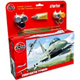 Airfix A50098 Eurofighter Typhoon 1:72 Scale Model Large Starter Set