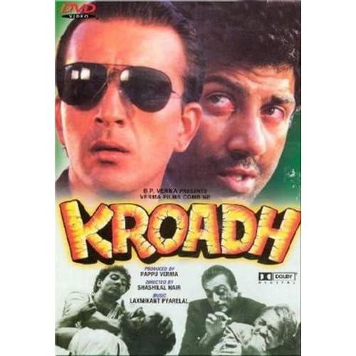 Kroadh (1990) (Hindi Action Film / Bollywood Movie / Indian Cinema DVD