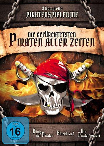 Die gefürchtesten Piraten aller Zeiten [3 DVDs]