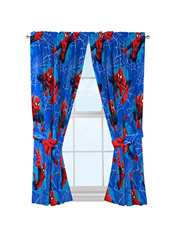 Marvel Spiderman 'Astonish' Curtain Panel 42