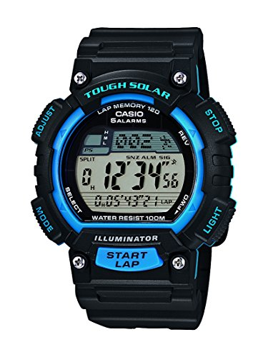 Casio Collection STL-S100H-2AVEF Orologio Digitale da Polso, Unisex, Resina, Nero