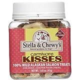 Stella & Chewy's Carnivore Kisses, Freeze-Dried Wild Alaskan Salmon Dog Treats