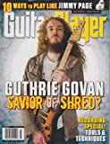 img - for Guitar Player July 2011 - Guthrie Govan - Savior of Shred? book / textbook / text book
