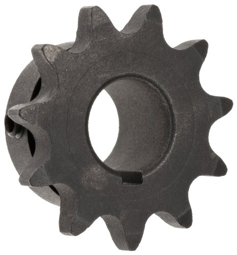 """Martin 40BS12 3/4 Type BS Sprocket With Keyway and 2 Setscrews for 40 Chain, 1/2"""" Pitch, 12 Teeth, 0.75"""" Bore Diameter, 2.166"""" Outside Diameter, 0.284"""" Wide"""