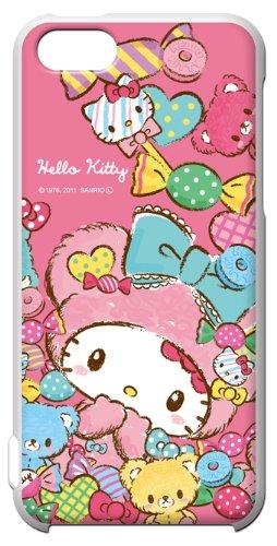 サンリオ iPhone5c ◆ キャラクター スマートフォン シェル ハード ケース / ハローキティ Hello Kitty 【KT1003】