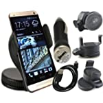 HTC One M7 Kit auto Supporto parabrez...