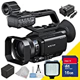 Sony Pxw-x70 Professional Xdcam Compact Camcorder with Professional Camcorder Video Flash and Extra Rechargeable Battery, Charger , 16gb Sdhc Secure Class 10 Memory Card and Lens Cleaning Cloth 5avecamera