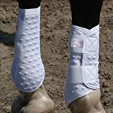 Stretch And Flex Flatwork Wraps(White, Large)