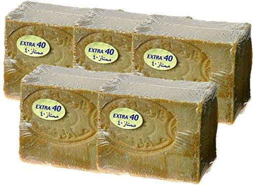 アレッポの石鹸 EXTRA 180g×5個