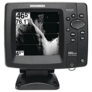 Humminbird 4089901 581i HD DI Combo Down Imaging and DualBeam Fishfinder and GPS by Humminbird
