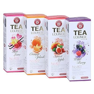 Teekanne Tealounge Kapseln - Früchtetee Sortiment mit 4 Sorten (32 Kapseln) von Teekanne auf Gewürze Shop