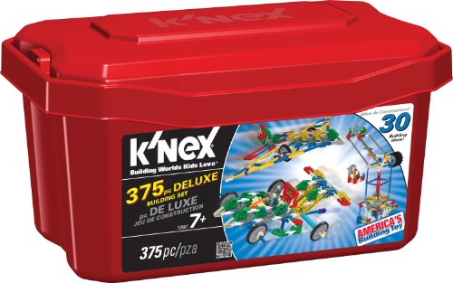 K'NEX 375 Piece Deluxe Building Set