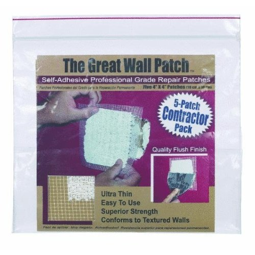 Great Wall Patch Co GWPC4P Wall Repair Patch