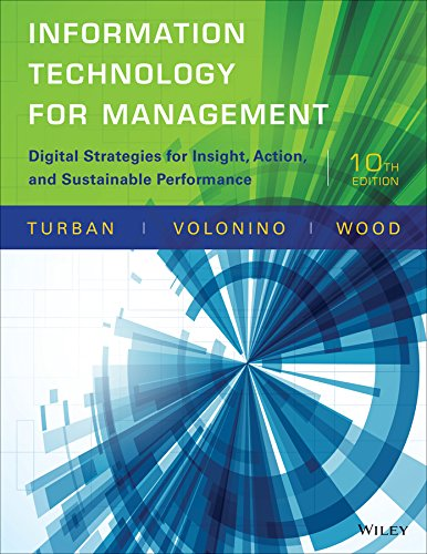Information Technology for Management: Digital Strategies for Insight, Action, and Sustainable Performance (Digital Information compare prices)