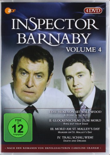 Inspector Barnaby, Vol. 04 [4 DVDs]