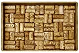 Faux Flooring Wine Cork Mat, 23 by 36-Inch, Multicolor