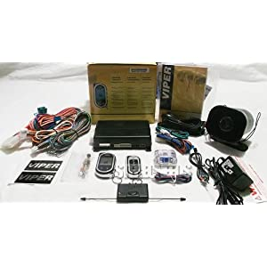 Viper 5704v Full Feature Car Alarm with Remote Start and 2-way Pager $188.49