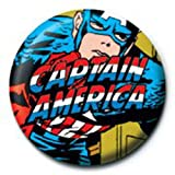 Captain America - Badges Marvel Captain America (in 2,5 cm)