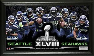 Seattle Seahawks Super Bowl 48 Team Force Panoramic Photo by Hall of Fame Memorabilia