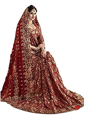 Jay Sarees Traditional Indian Ethnic Wedding Bridal Saree Jcsari3072d4009