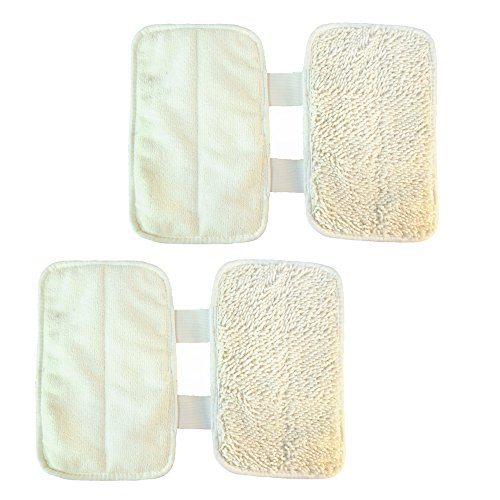 HQRP Washable Cleaning Pad 2-Pack
