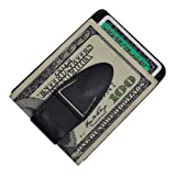 Money Clamp Mini Color Clamp - Black with Wallet