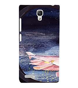 EPICCASE Night Sky Mobile Back Case Cover For Xiaomi Redmi Note (Designer Case)
