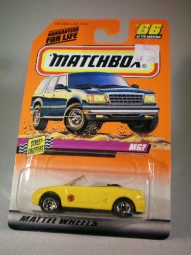 Matchbox 1997 Series 10 Street Cruisers 1:56 MGF Die Cast Car Collector #66 - 1