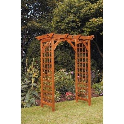 Wooden Pergola Arch - Teak
