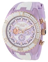 MULCO Unisex MW5-1836-513 Analog Chronograph Swiss Watch