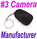 30fps 808 #3 Spy Car Key Keyring Camera DVR Covert Video Spycam Keychain 720*480