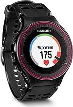 Garmin Forerunner 225 - Montre de Running GPS avec Cardio au Poignet - Noir/Rouge