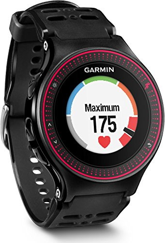 garmin-forerunner-225-gps-running-watch-with-wrist-based-heart-rate-and-colour-display-black-red
