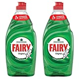 Fairy Original Washing Up Liquid Large 530g (Pack of 2)