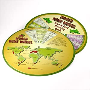 World Wine Wheel and  Food Matching Guide