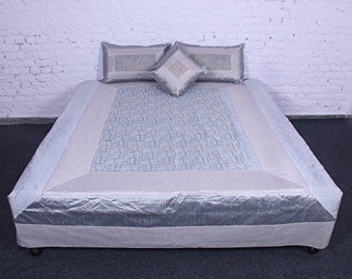 etnica indiana, Sequenza Art 2016-Set di camera da letto letto in cotone, seta,