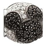 Authentic Chamilia Sterling Silver Disney Charm Jeweled Mickey With Swarovski