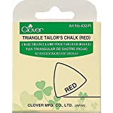 Clover Triangle Tailors Chalk, Red