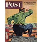 1945 Saturday Evening Post January 6-Bowling;Mission over Yap; Ploesti; Osema