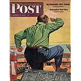 1945 Saturday Evening Post January 6-Bowling;Mission over Yap; Ploesti; Osema