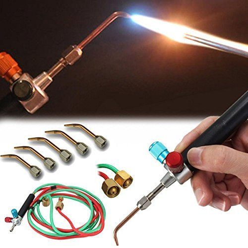 Smith New Top Gas Torch Welding Soldering Little Torch Soldering With 5 Weld Tips (3 Stage Propane Regulator compare prices)