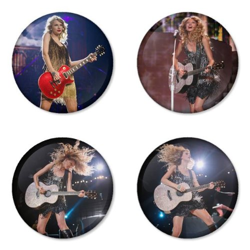 Taylor swift round badge 1 75 pinback these taylor swift button pins