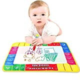 Kid Water Drawing Mat, Yia Mia(Tm) Baby Kid Water Drawing Painting Writing Mat With Magic Pen Aqua Doodle Child...