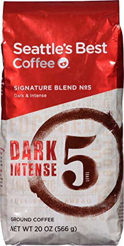 Starbucks Level 5 Seattle's Best Coffee, Ground, 20 oz (Starbucks Decaf Dark Roast K Cups compare prices)