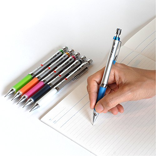 Pilot Uni Alpha-Gel Slim Mechanical Pencil 0.5mm, Royal Blue (M5807GG1P.40)