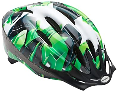 Schwinn Youth Intercept Helmet, Green from Pacific Cycle, Inc (Accessories)