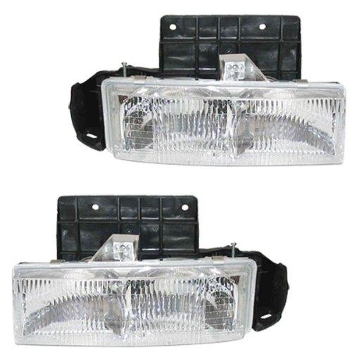 977d5dce2e5 95-05 Chevy Astro Van GMC Safari Headlights Headlamps Head Lights Lamps  Pair Set