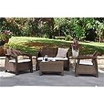Keter Corfu Rattan Garden Furniture S...