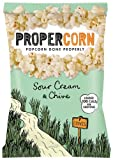 Propercorn Sour Cream and Chive Popcorn 80 g (Pack of 12)