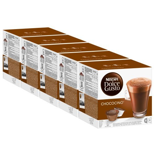 Order Nescafé Dolce Gusto Chococino, Pack of 5, 5 x 16 Capsules (40 Servings) from Nestlé